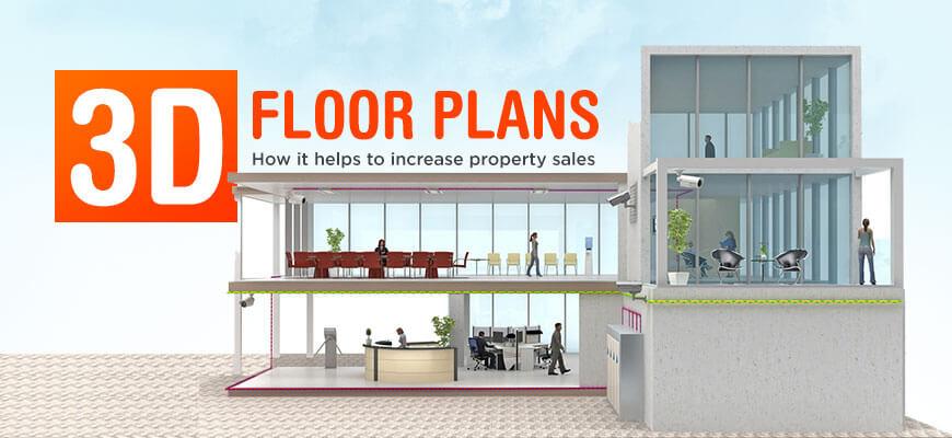 40D Floor Plans How It Helps To Increase Property Sales Fascinating 3D Bedroom Design Property