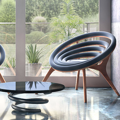 Modern home furniture 3D design