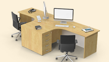office table design 3D