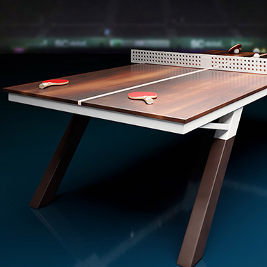 Sports furniture 3D design