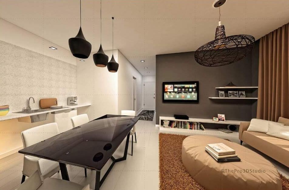 3d interior design rendering services cgi rendering - Interior design companies chicago ...